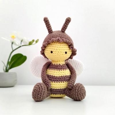 Amigurumi méhecske (ingyenes horgolásminta)