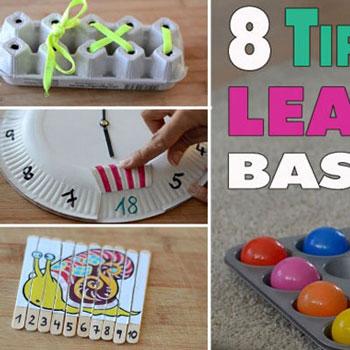 Fejlesztő / tanító játékok gyerekeknek egyszerűen