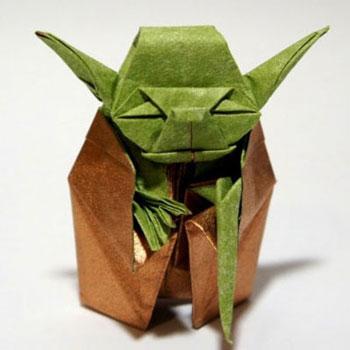 Origami Jedi mester Yoda ( Star Wars - Csillagok háborúja )