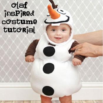 Olaf hóember jelmez  (  Disney - Jégvarázs )