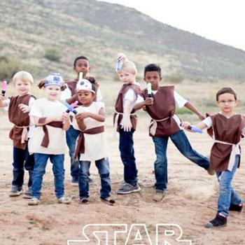 Varrás nélküli Jedi jelmez (Csillagok háborúja - Star Wars)