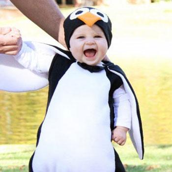 Pingvin farsangi jelmez (Mary Poppins)