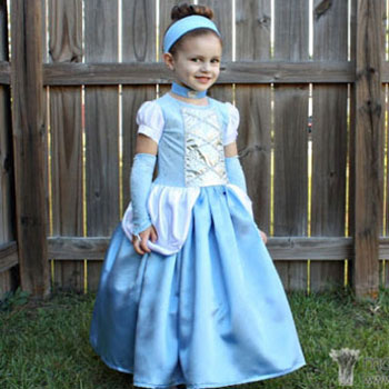Hamupipőke jelmez (Disney) - hercegnő jelmez