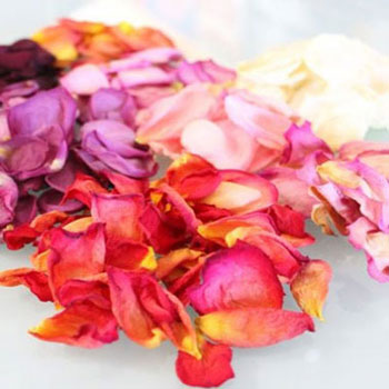 How to dry rose  petals and roses