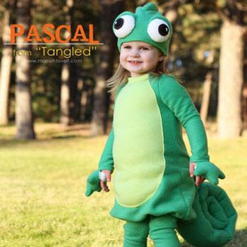 Pascal (kaméleon) jelmez - Disney (Aranyhaj)
