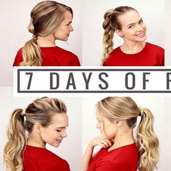 7 különféle egyszerű ötlet lófarokra - frizura tippek