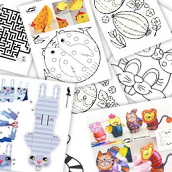 60 különböző húsvéti színező, ajándékdoboz és foglalkoztató