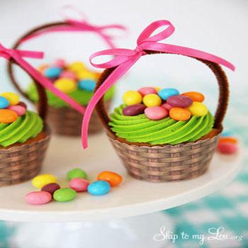 Papír kosárkák muffin-okhoz ( nyomtatható mintaívvel )
