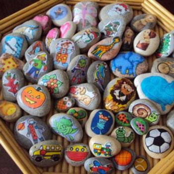 Mesélő kövek - mesemondó játék