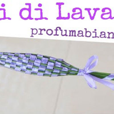 DIY Lavender wands