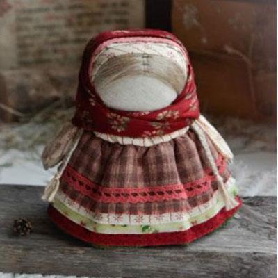 Skandinavian style winter dolls from logs (no-sew)