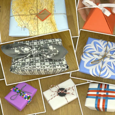 How to wrap a present - 8 easy DIY present wrapping idea