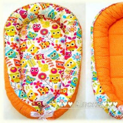 DIY baby nest ( free sewing pattern )