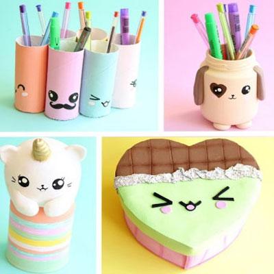 10 DIY super cute (kawaii) recycling ideas