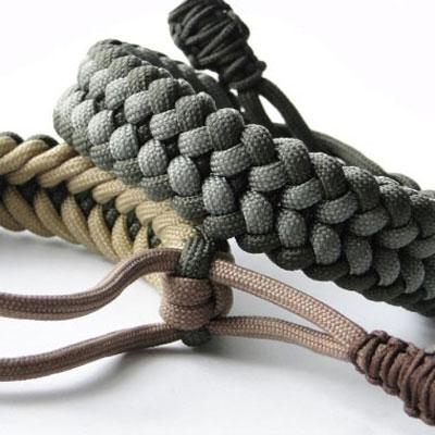 DIY Mad Max style sanctified paracord bracelet