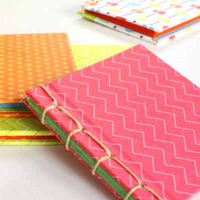 DIY Japanese book binding - how to make a sketchbook