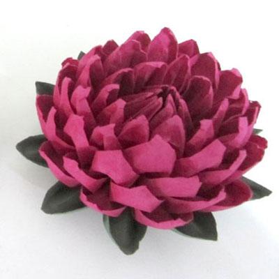 DIY easy to make origami lotus flower (paper folding)