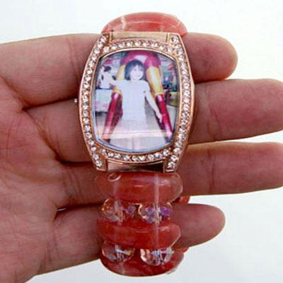 Turn a broken watch into  a locket bracelet