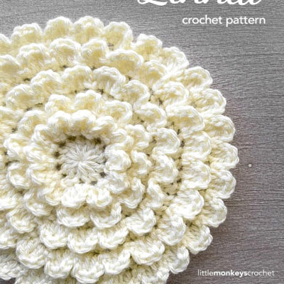 Endless flower ( free crochet pattern )