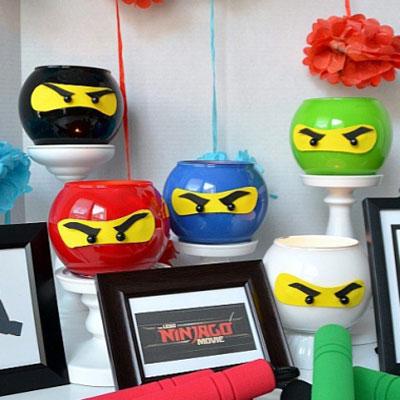Lego Ninjago - easy DIY ninja lanterns