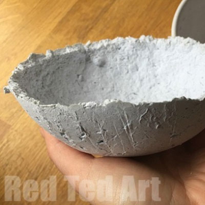 How to make paper clay from newspaper (paper clay recipe)