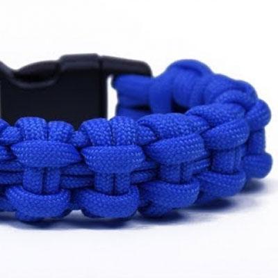 DIY Chain bar paracord survival bracelet