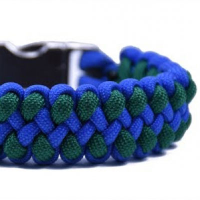 DIY Dragon claw paracord survival bracelet