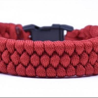 DIY Slim trilobite paracord bracelet