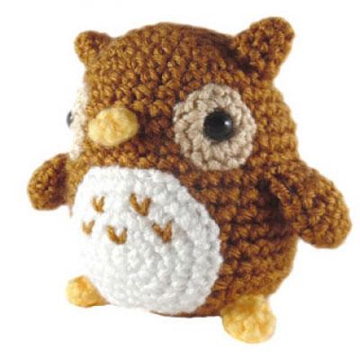 Little amigurumi owl pattern (free crochet pattern)