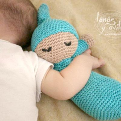 Amigurumi sleepy doll pattern (free crochet pattern)