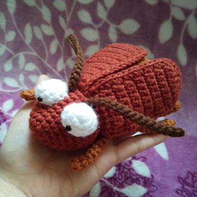 Crochet (amigurumi) bug - free crochet pattern