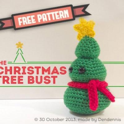 Little crochet Christmas tree - free amigurumi pattern