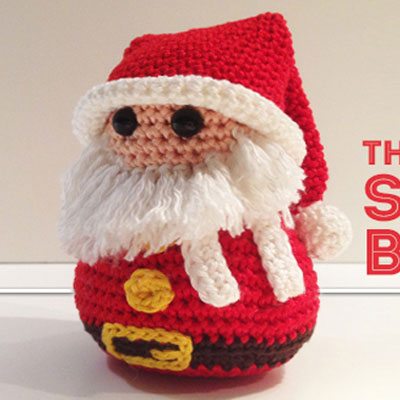 Little crochet Santa toy (free amigurumi pattern)
