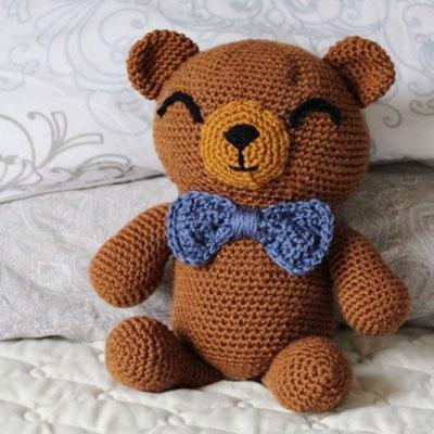Amigurumi (crochet) teddy bear - free crochet pattern