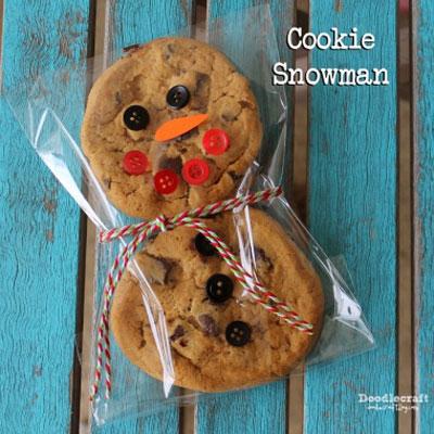 Gingerbread men cookies - fun Christmas gift idea