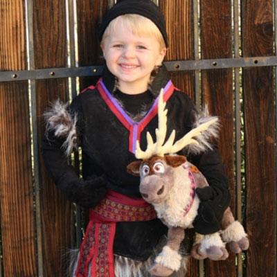 DIY No-sew Kristoff costume for kids ( Disney - Frozen)