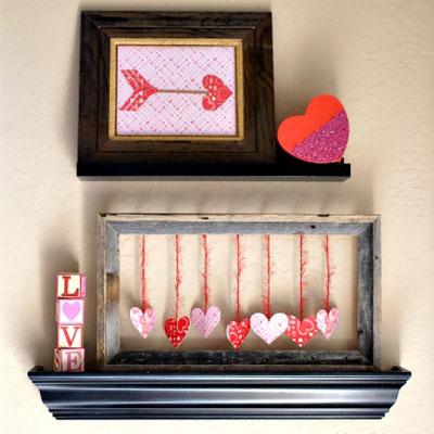 4 Easy DIY Valentine's day decor