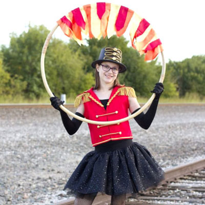 DIY Lion tamer circus costume (free sewing tutorial)