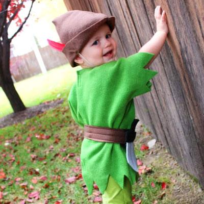 DIY felt Peter Pan costume (sewing tutorial)