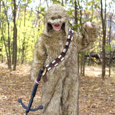 DIY Chewbacca costume (Star Wars costume)