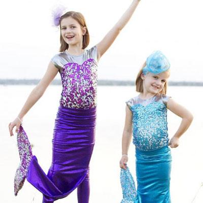 DIY Mermaid costume - free sewing pattern