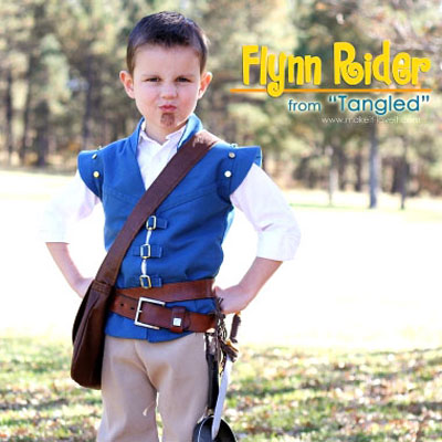 DIY Flynn Rider costume (from Tangled) - sewing tutorial