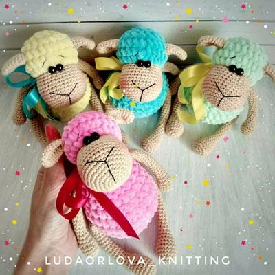 Crochet (amigurumi) sheep toy - free amigurumi pattern