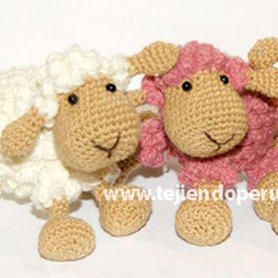 Little popcorn stich sheep - free amigurumi pattern & video tutorial