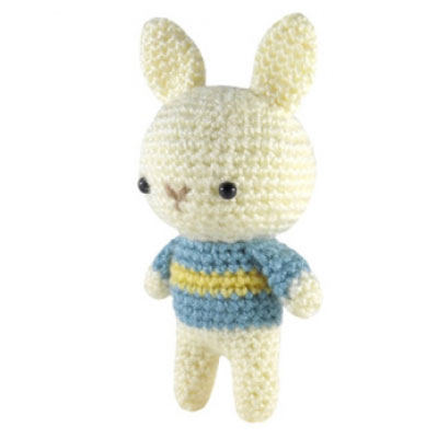 Little crochet animals amigurumi   Patrón de conejito de ganchillo ...   400x400