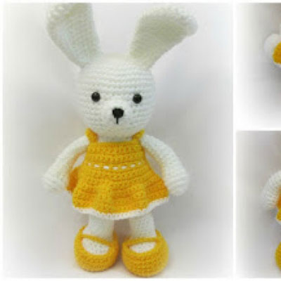 Crochet dress me up bunny - free amigurumi pattern
