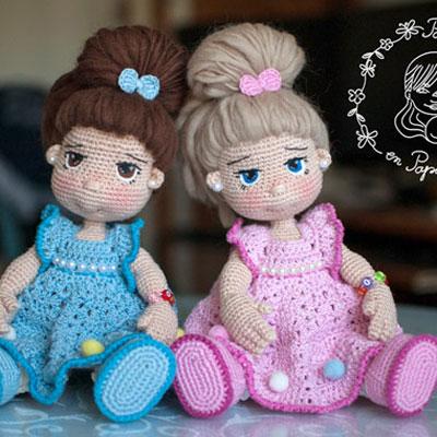 Amigurumi russian doll free pattern | 400x400