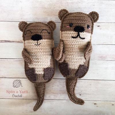 Amigurumi otters - free crochet pattern