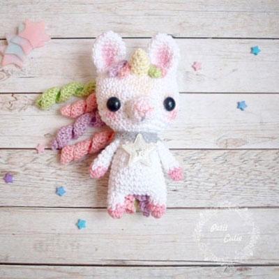 Adorable little amigurumi unicorn ( free crochet pattern )