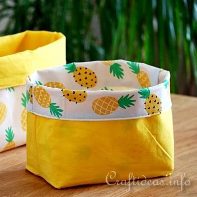 Easy DIY fabric storage box (free sewing pattern)